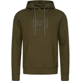 super.natural Signature Hoodie Men, olive night/olive night